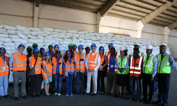 WFP implements activities funded by PEPFAR.