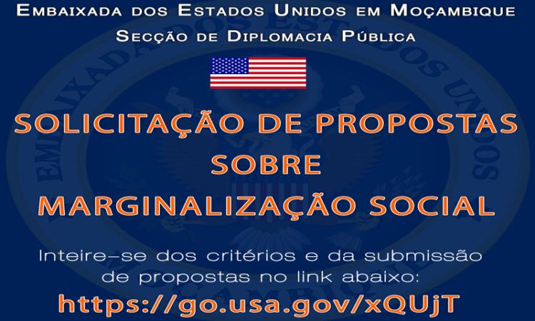 Solicitação de Propostas sobre Marginalização Social